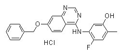ZM 323881 HCl Chemical Structure